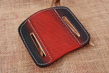 Load image into Gallery viewer, CUSTOM HAND MADE PURE LEATHER SHEATH WITH ENGRAVED AJ 3054