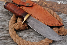 Load image into Gallery viewer, Custom Hand Forged Damascus Steel Knife-AJ-3084