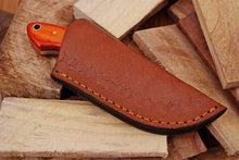 Load image into Gallery viewer, Hand Made Forged Steel Hunting Knife Olive Wood Handle-AJ-1901