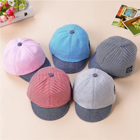 Newborn Boy Baseball Cap Summer Baby Girl Hat 2-5T Infant Toddler Cap Girl Boy Unisex Cotton Kids Hat Children Sun Hats