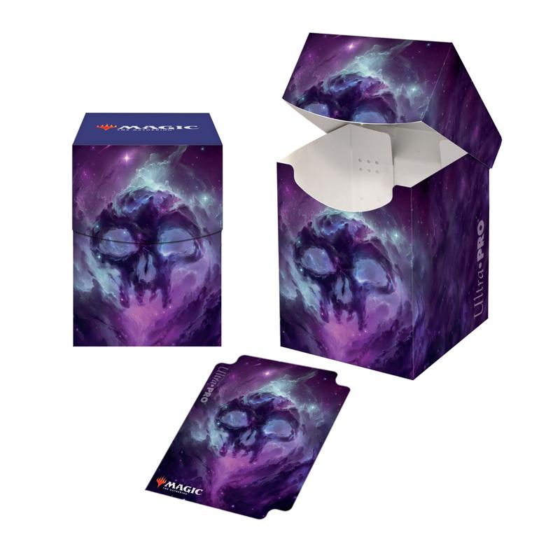 100 + Deck Box - Magic: The Gathering Celestial Swamp