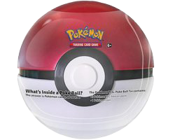 2020 Poke Ball Tin Red-White EN