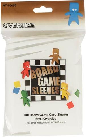 Board Game Sleeves Oversize (82 x 124mm) (100 pcs)