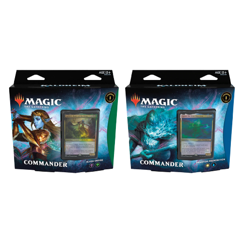 Kaldheim Commander Deck Set de 2 FR