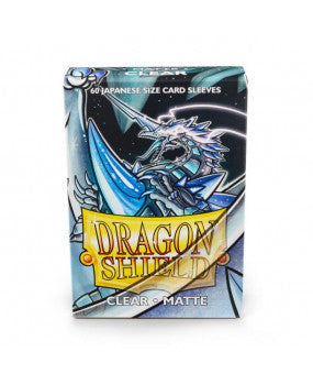 Dragon Shield Matte Clear 60 sleeves SMALL Size - OutpostGaming - Stay Safe