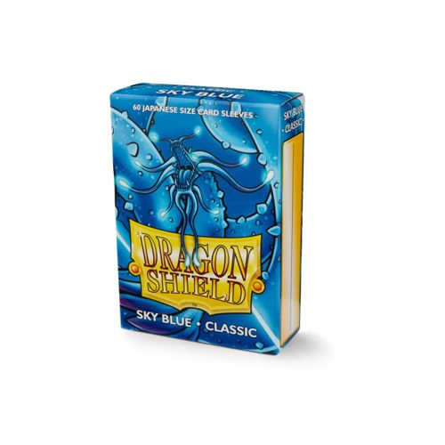 Dragon Shield Sky Blue Classic 60 sleeves SMALL Size - OutpostGaming - Stay Safe