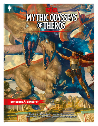 DUNGEONS & DRAGONS Mythic Odysseys of Theros EN - OutpostGaming - Stay Safe