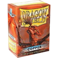 Dragon Shield Classic Copper 100 sleeves Standard Size