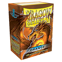 Dragon Shield Classic Orange 100 sleeves Standard Size