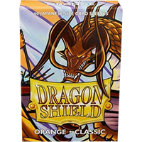 Dragon Shield Classic Orange 60 sleeves SMALL Size