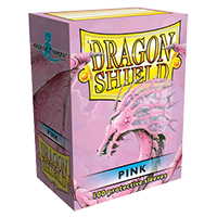 Dragon Shield Classic Pink 100 sleeves Standard Size