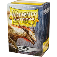 Dragon Shield Classic White 100 sleeves Standard Size