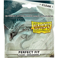 Dragon Shield  Perfect Fit Sideloading Sleeves Clear 100 Sleeves
