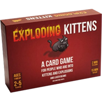 Exploding Kittens SFW Edition - OutpostGaming - Stay Safe