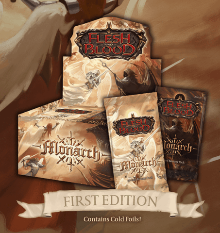 Flesh & Blood TCG - Monarch First Edition Booster Display EN