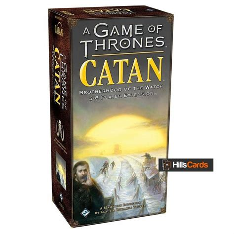 Game of Thrones Catan: Brotherhood of the Watch 5-6 players extension