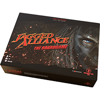 Jagged Alliance: The Board Game EN