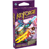 KeyForge Worlds Collide Deck EN - OutpostGaming - Stay Safe