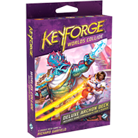 KeyForge Worlds Collide Deluxe Deck EN - OutpostGaming - Stay Safe