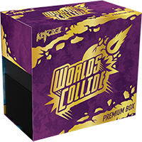 KeyForge Worlds Collide Premium Box EN - OutpostGaming - Stay Safe