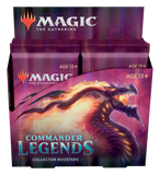 Commander Legends Collector Booster Display EN - OutpostGaming - Stay Safe