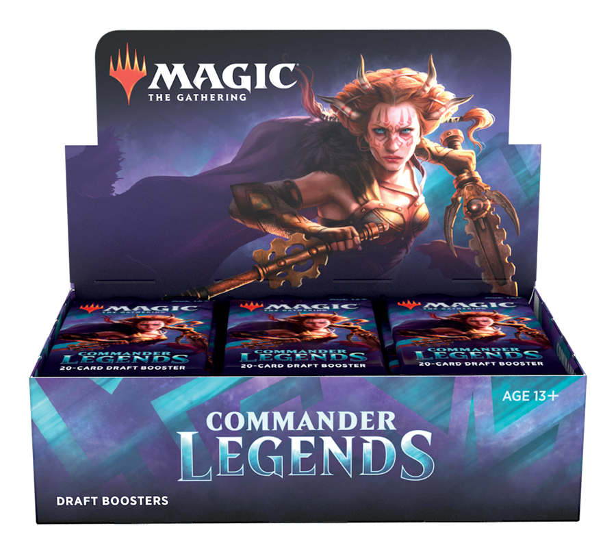 Commander Legends Draft Booster Display EN - OutpostGaming - Stay Safe