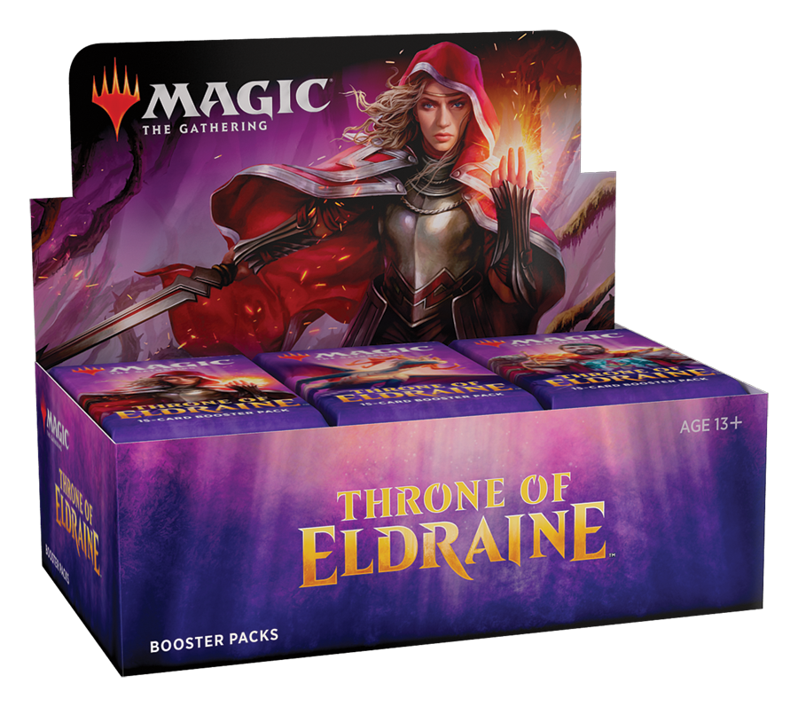 Throne of Eldraine Booster Display EN - OutpostGaming - Stay Safe