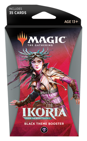 Ikoria: Lair of Behemoths Theme Booster Black EN - OutpostGaming - Stay Safe