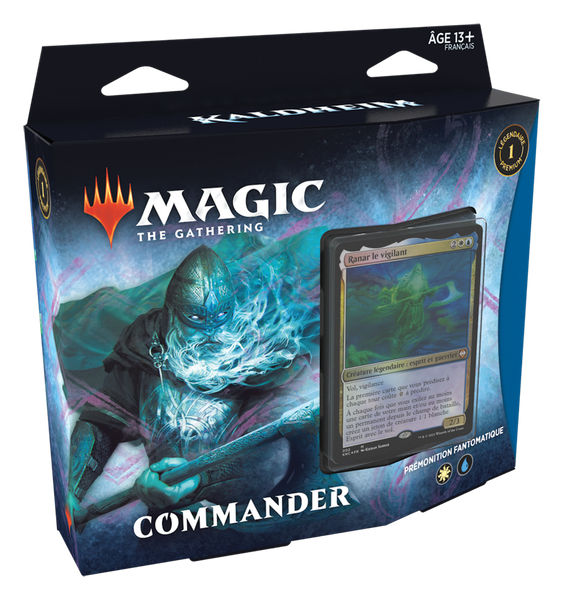 Kaldheim Commander Deck Phantom Premonition FR