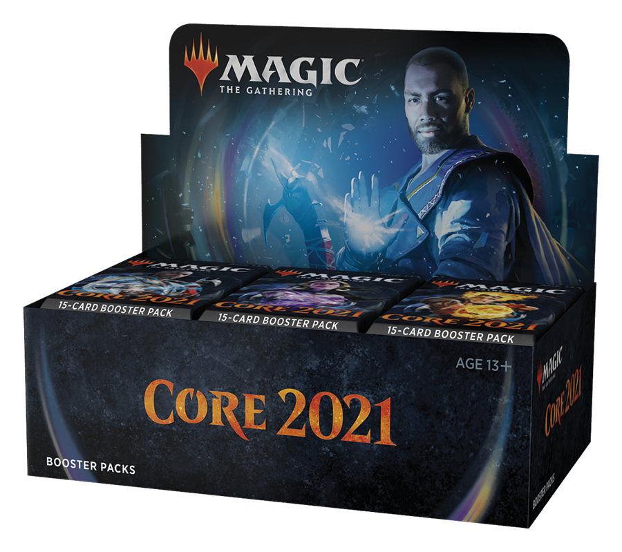 Core Set 2021 Booster Display EN - OutpostGaming - Stay Safe