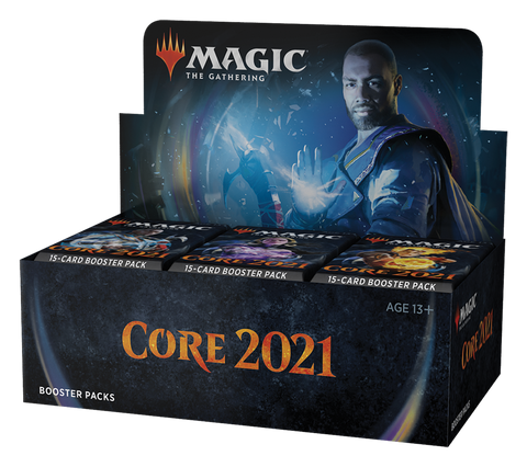 Core Set 2021 Booster Display FR - OutpostGaming - Stay Safe