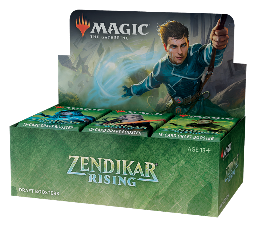 Zendikar Rising Draft Booster Display EN - OutpostGaming - Stay Safe
