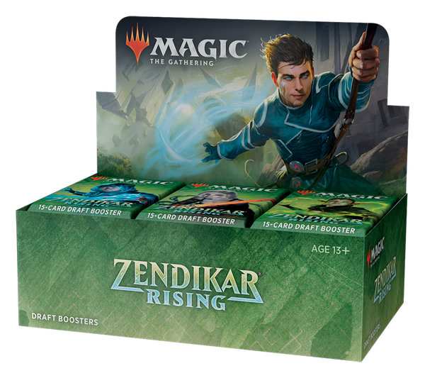 Zendikar Rising Draft Booster Display FR - OutpostGaming - Stay Safe