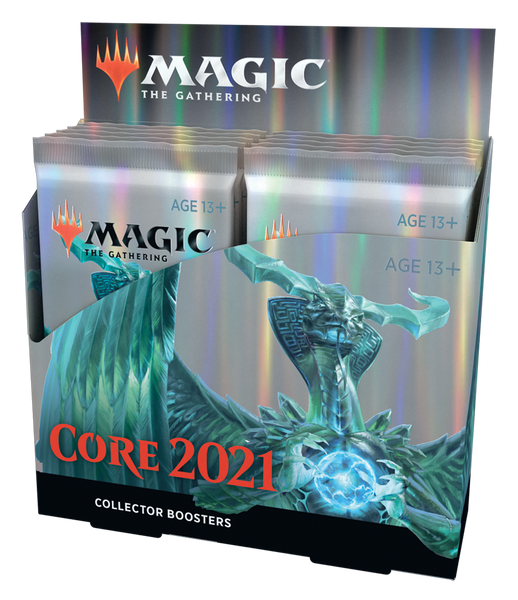 Core Set 2021 Collector Booster Display EN - OutpostGaming - Stay Safe