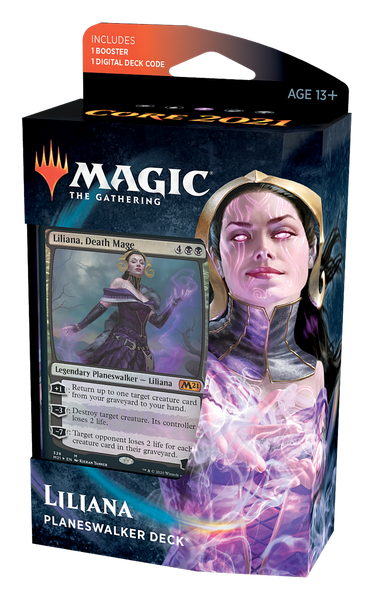 Core Set 2021 Planeswalker Deck Liliana FR - OutpostGaming - Stay Safe