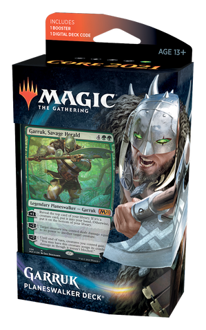 Core Set 2021 Planeswalker Deck Garruk FR - OutpostGaming - Stay Safe