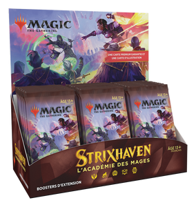 Strixhaven: L'académie des Mages Display de Boosters d'Extension FR