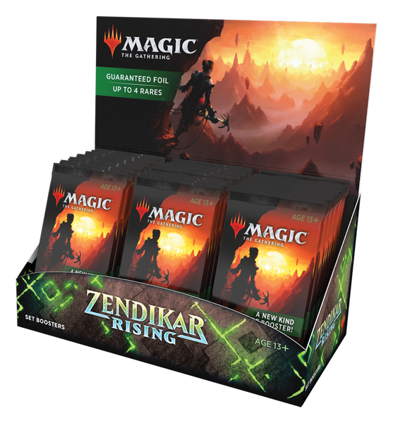 Zendikar Rising Set Booster Display EN - OutpostGaming - Stay Safe