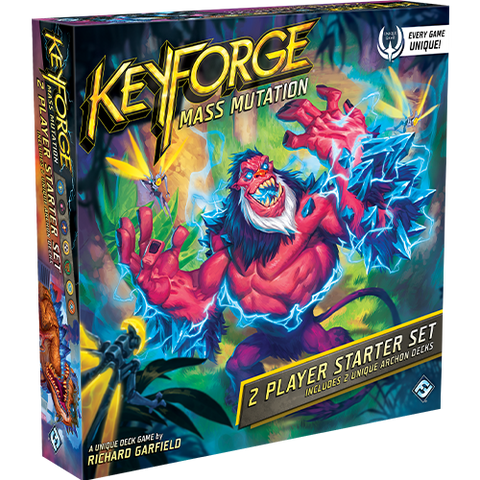 Keyforge Mass Mutation 2 Player Starter Set EN - OutpostGaming - Stay Safe