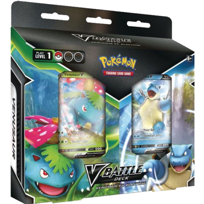 Pokémon V Battle Deck: Venusaur vs. Blastoise EN
