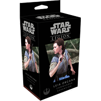 Star Wars Legion: Leia Organa Commander EN