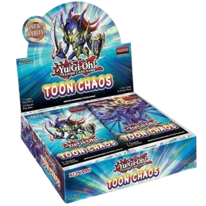 Toon Chaos Booster Display Unlimited Edition EN