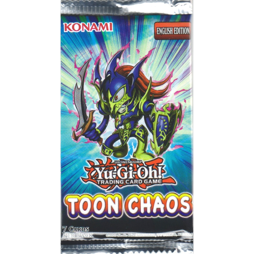 Toon Chaos Booster Unlimited Edition EN