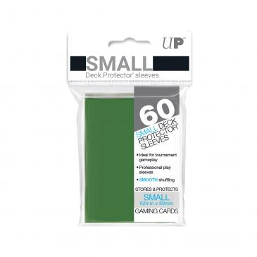 Ultra Pro Green 60 Sleeves SMALL Size - OutpostGaming - Stay Safe