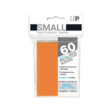 Ultra Pro Orange 60 Sleeves SMALL Size - OutpostGaming - Stay Safe