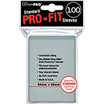 Ultra Pro Fit 100 Sleeves Standard Size - OutpostGaming - Stay Safe