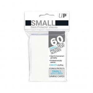 Ultra Pro White 60 Sleeves SMALL Size - OutpostGaming - Stay Safe