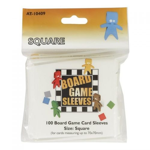 Board Game Sleeves Square (69 x 69mm) (100 pcs)