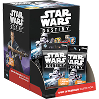 Star Wars Destiny: Spirit of Rebellion booster display EN