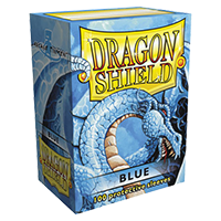 Dragon Shield blue Classic 100 sleeves Standard Size - OutpostGaming - Stay Safe